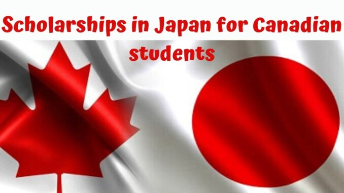 Global Scholarship - Japan Scholarships for Canadian Students