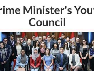 Applying Canada Prime Minister's Youth Council; Young Canadians are the leaders of tomorrow