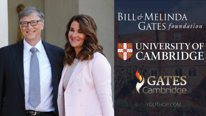 Bill Gates Cambridge Scholarship Program 2021 in Cambridge University UK