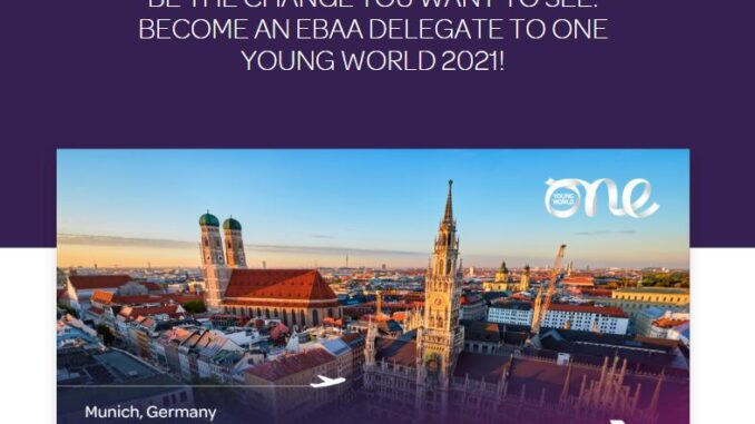 2021 One Young World Summit