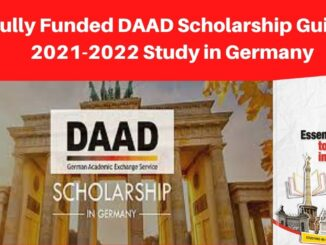 Fully Funded DAAD Scholarship Guide 2021-2022 Study in Germany