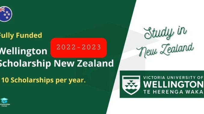 Full-Free Scholarships in Victoria University of Wellington is one of New Zealand
