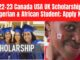 2022-23 Canada USA UK Scholarship For Nigerian & African Student; Apply Now